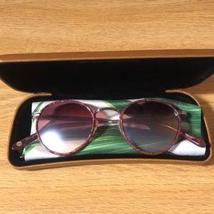 Garrett Leight Wilson Sunglasses in Burgundy